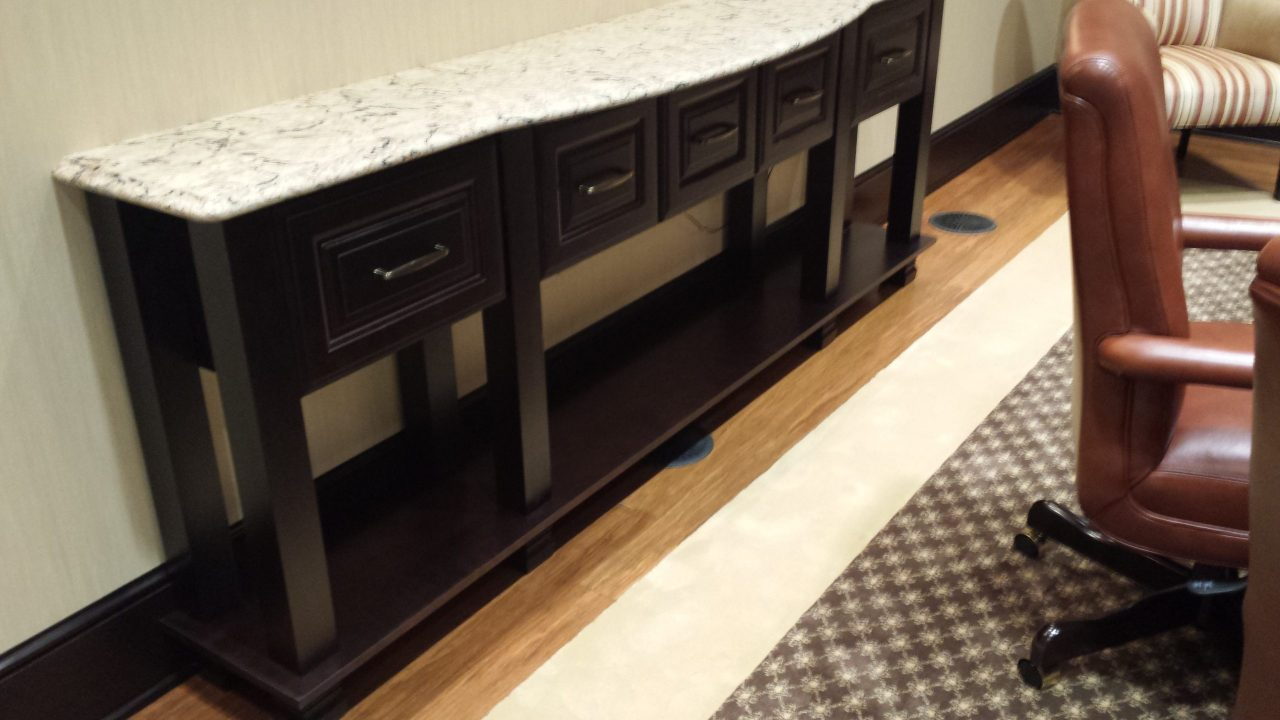 Custom Sideboard/Custom Carpet
